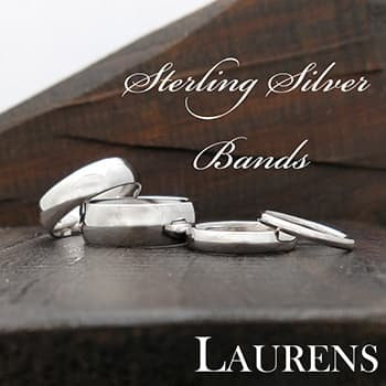 Shop Laurens sterling silver bands